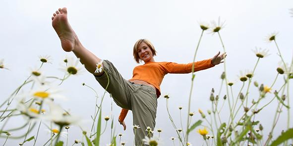 Femme vitalité nature   © Profimedia/Oredia
